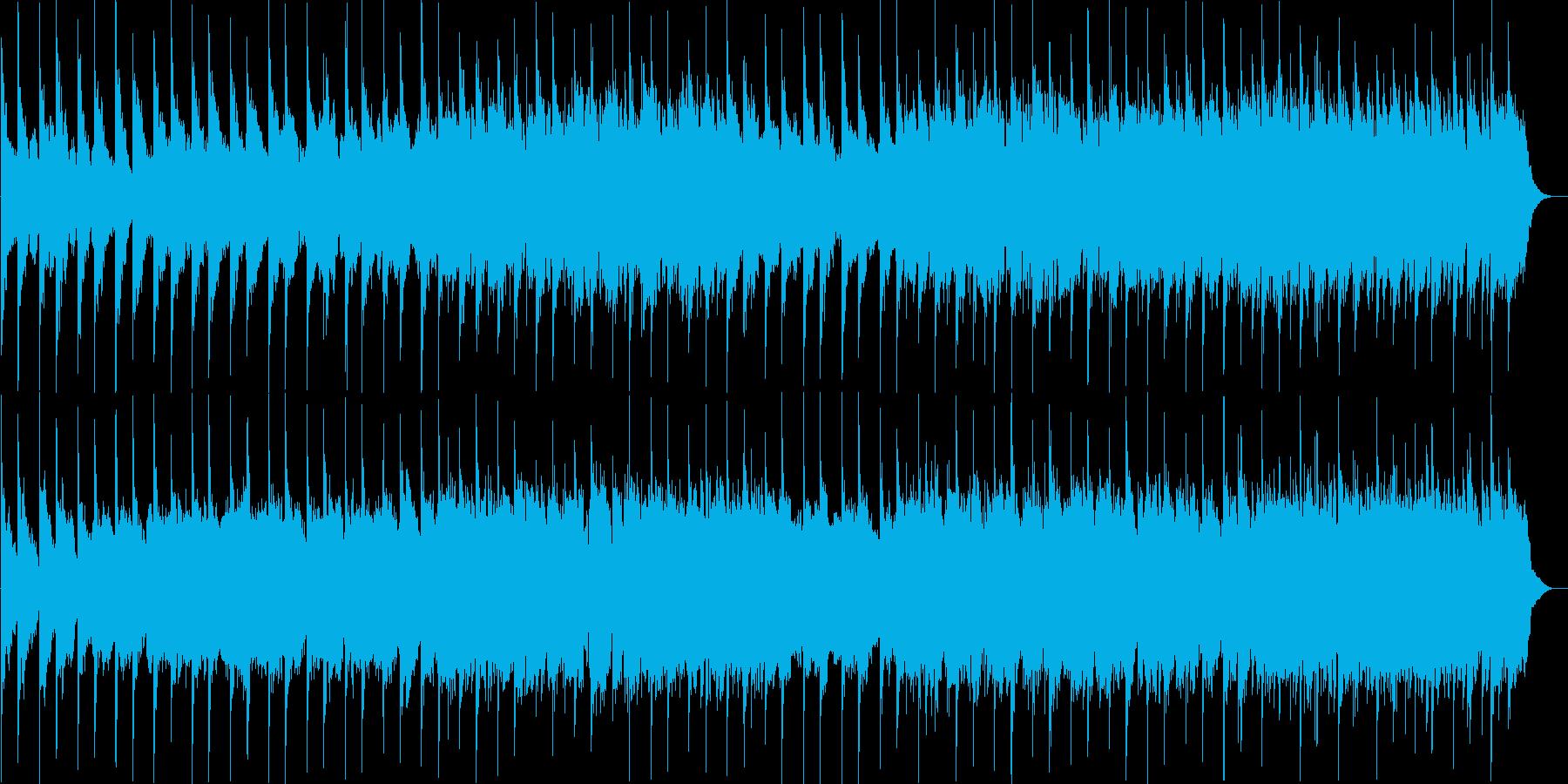 幻想的で儚げなアンビエント曲の再生済みの波形