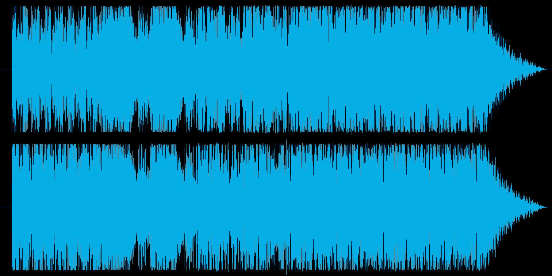 ミステリアスなプログレサウンドです。の再生済みの波形