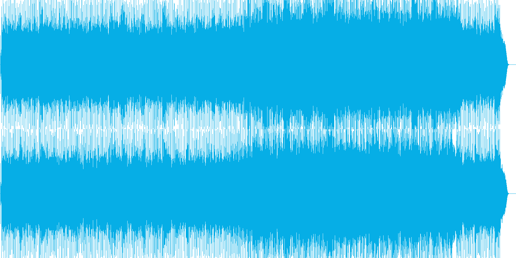 淡々としていながらも力強いポップロックの再生済みの波形