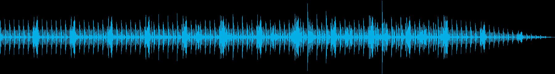 やさしい機械仕掛けの目覚ましアラームの再生済みの波形
