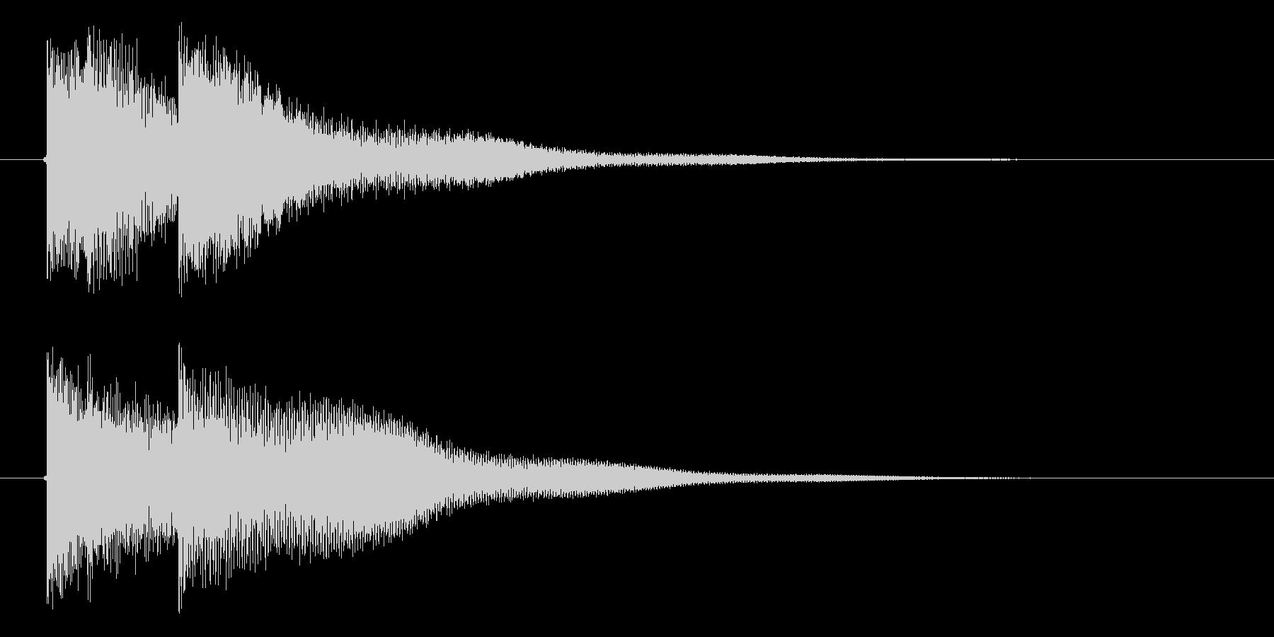 ティレトーンの未再生の波形