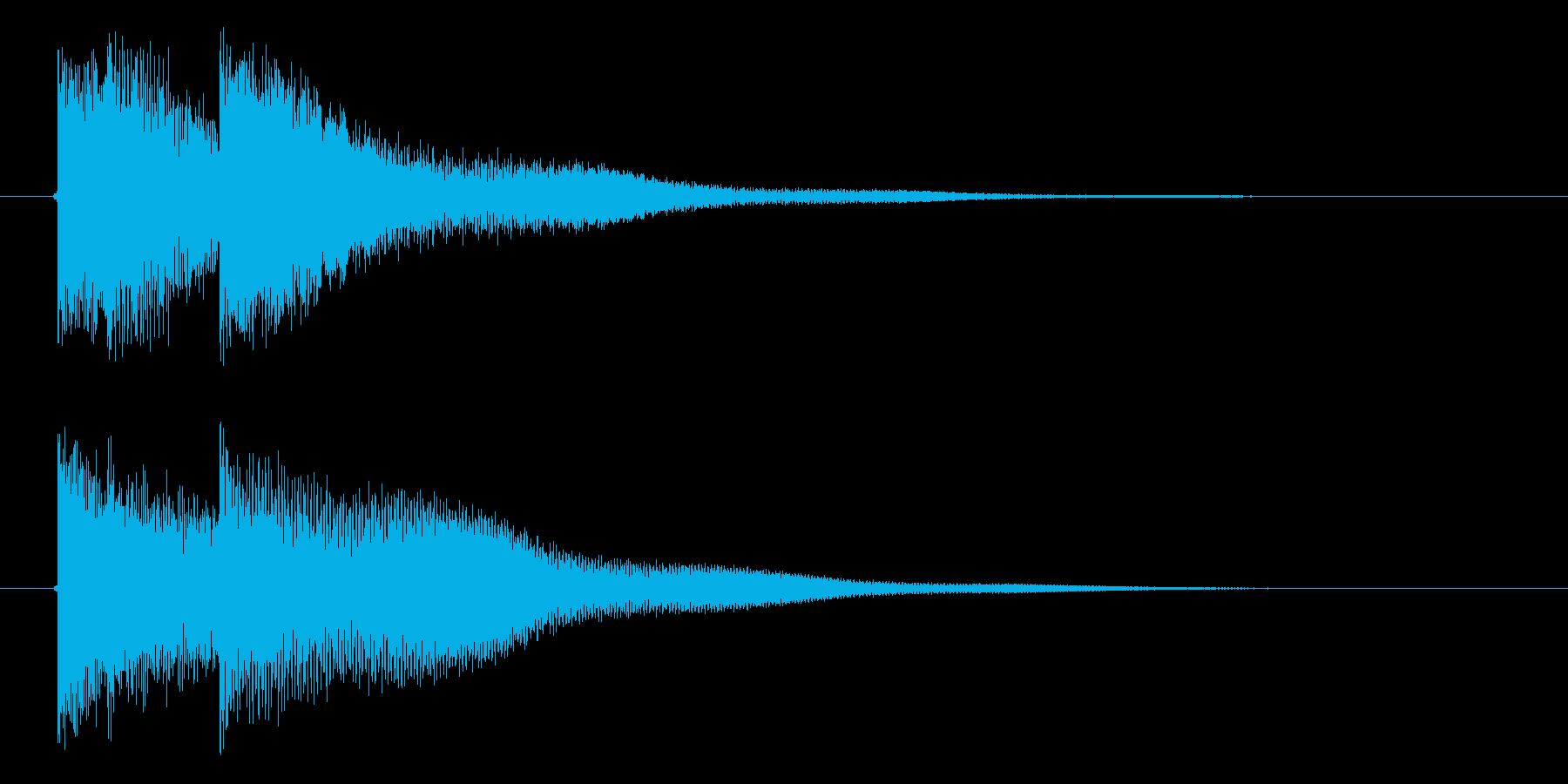 ティレトーンの再生済みの波形
