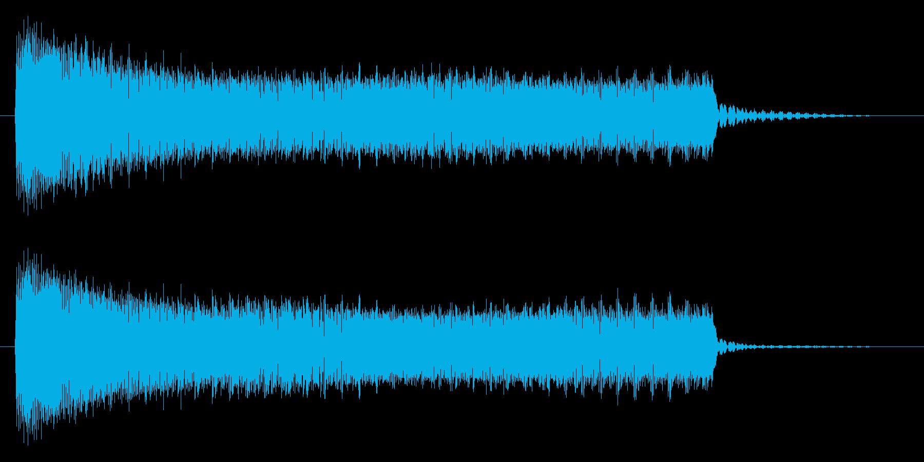 ブーッ/不正解/クイズの再生済みの波形