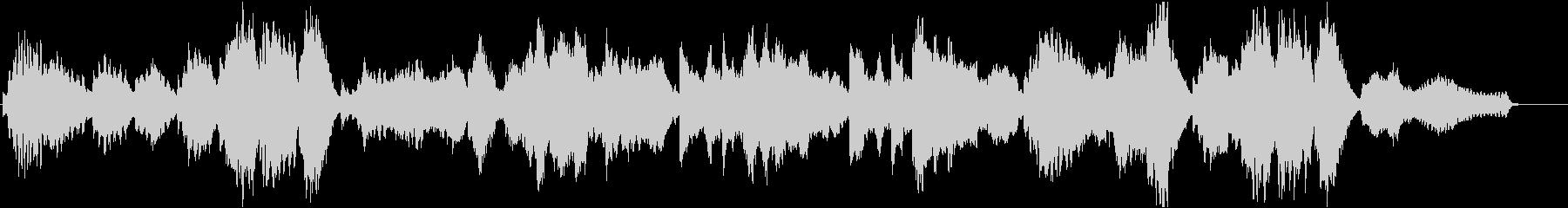 フルートとピアノによる透明感あるポップスの未再生の波形