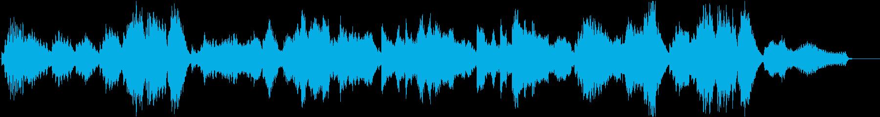 フルートとピアノによる透明感あるポップスの再生済みの波形