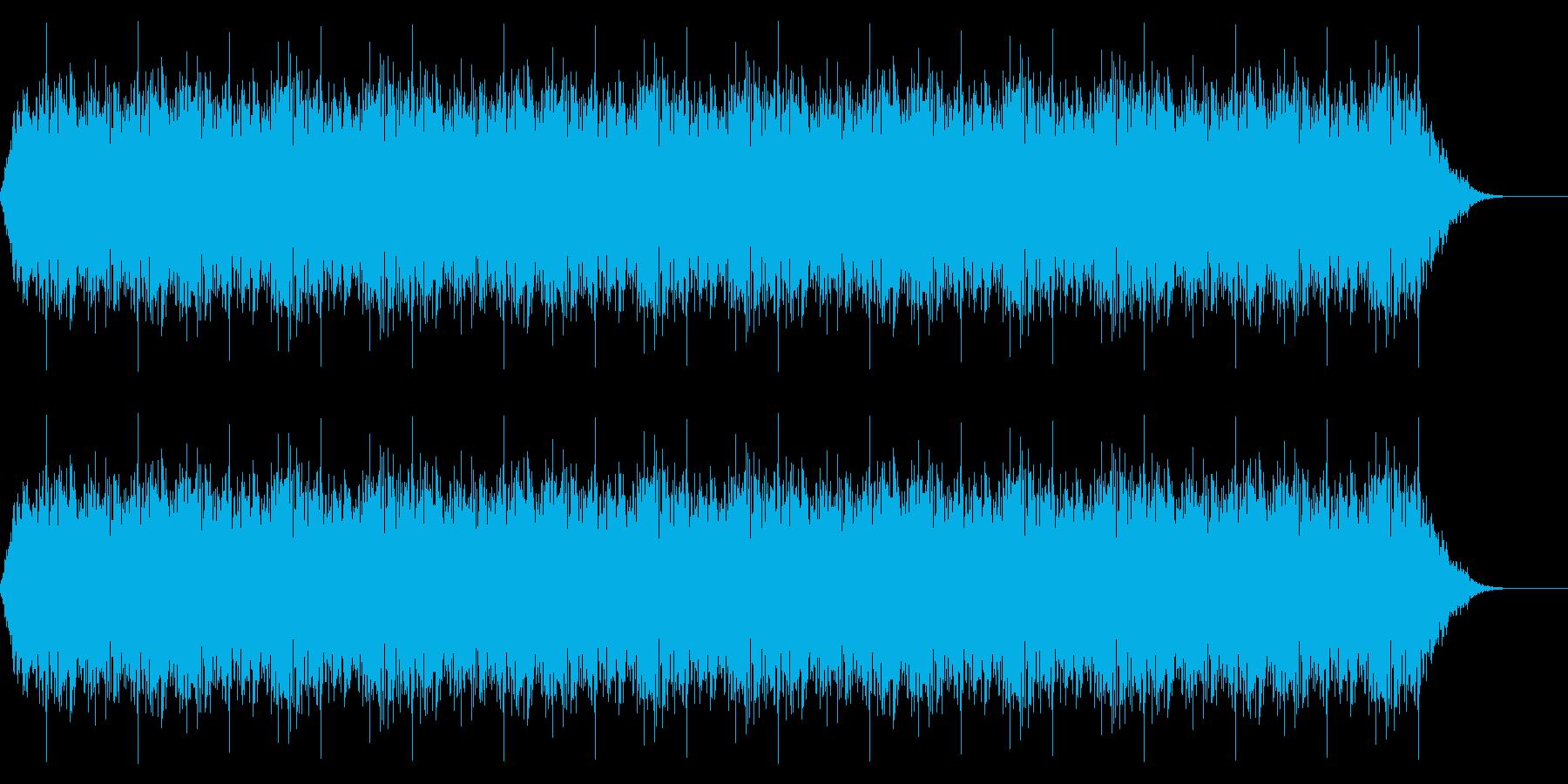アニメにありそうなエネルギー弾(連射)の再生済みの波形