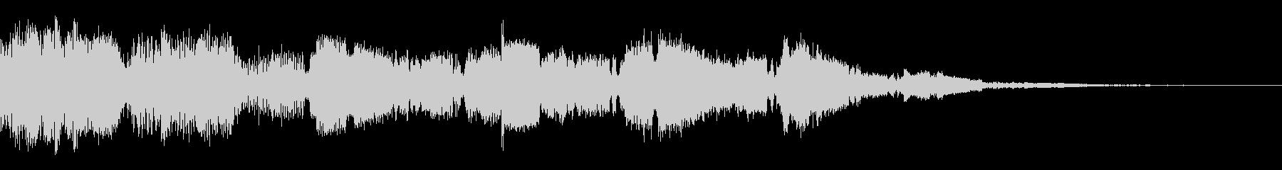 システム音(キラキラの未再生の波形