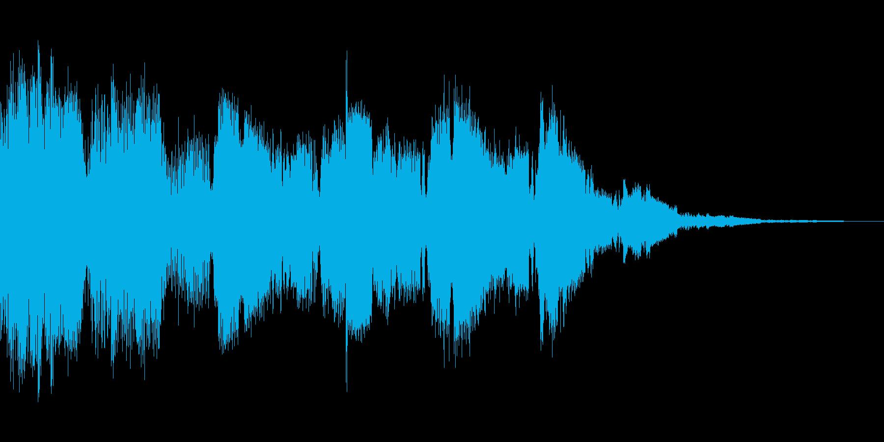 システム音(キラキラの再生済みの波形