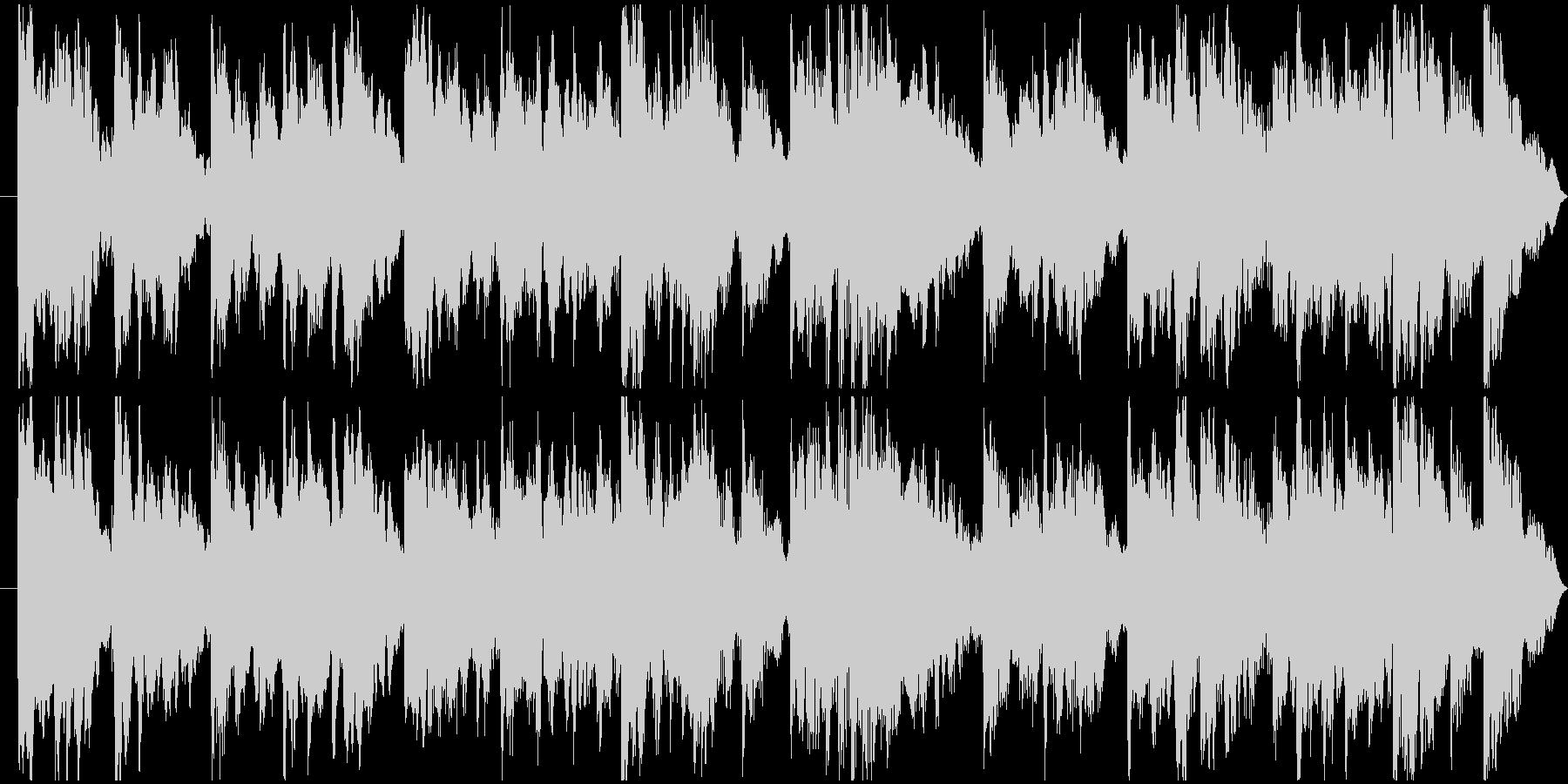エレピ30sサウンドの未再生の波形