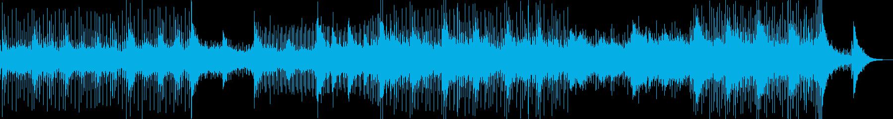 日本の祭りの風景に合うBGMの再生済みの波形