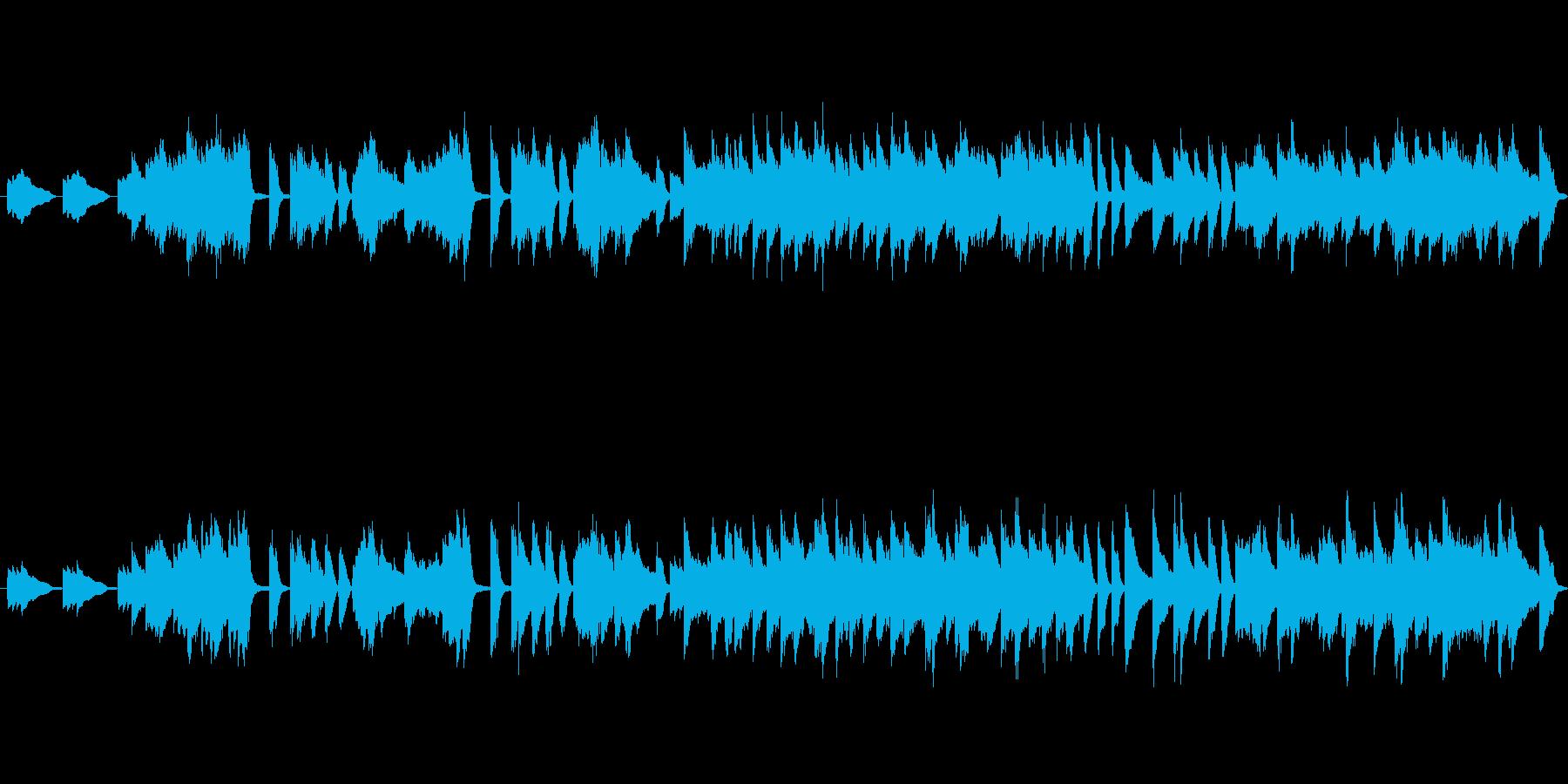 皆様ご存知の結婚行進曲のピアノ版です。の再生済みの波形