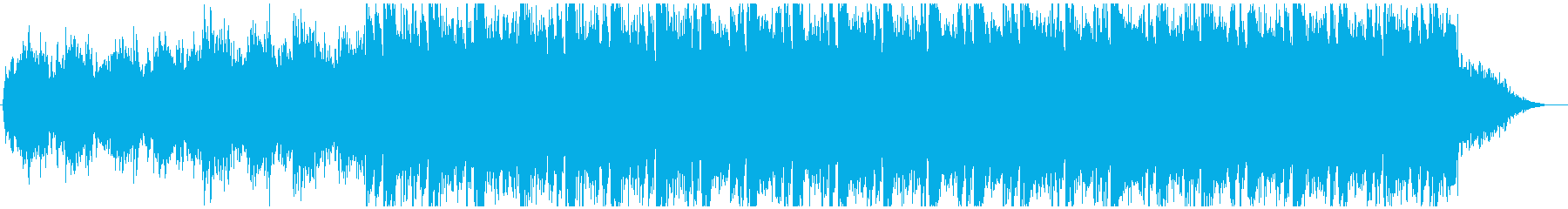 壮大な戦闘BGMの再生済みの波形