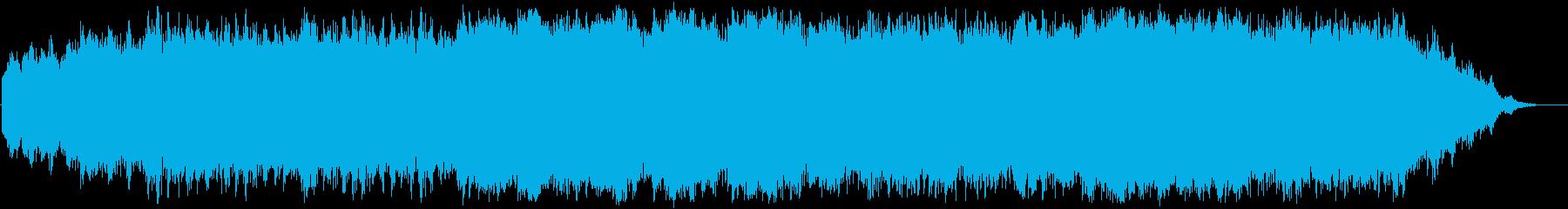 ガムランとピアノの幻想曲の再生済みの波形