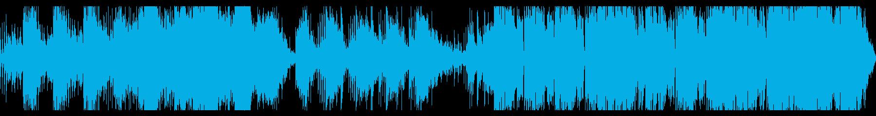 神秘的な空想科学BGMの再生済みの波形