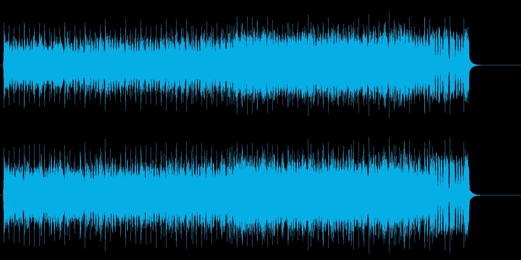 勇者達の壮大なロック/テーマの再生済みの波形