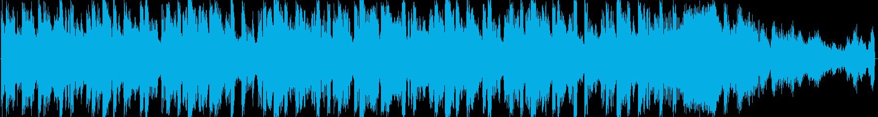 怪しい雰囲気のするエレクトロニカの再生済みの波形