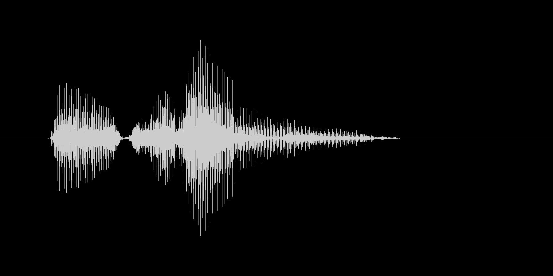 ピンチランナーの未再生の波形