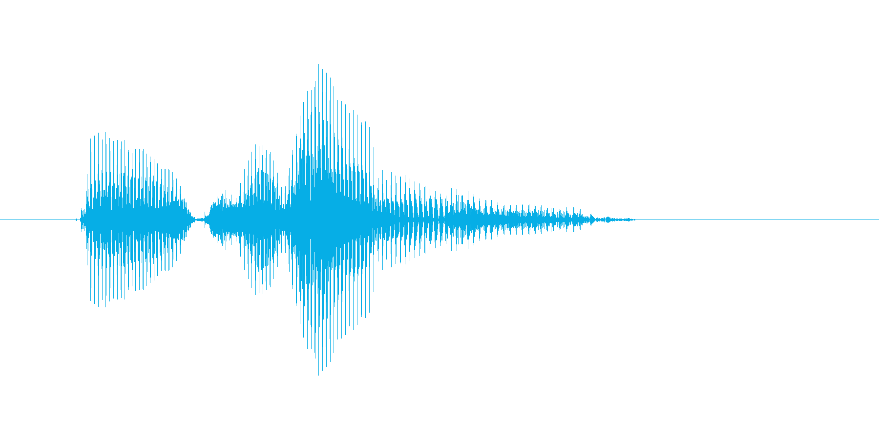 ピンチランナーの再生済みの波形