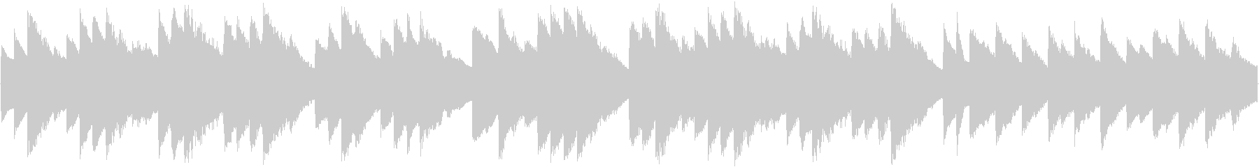 オルゴール曲で、着信音やオルゴールの曲…の未再生の波形