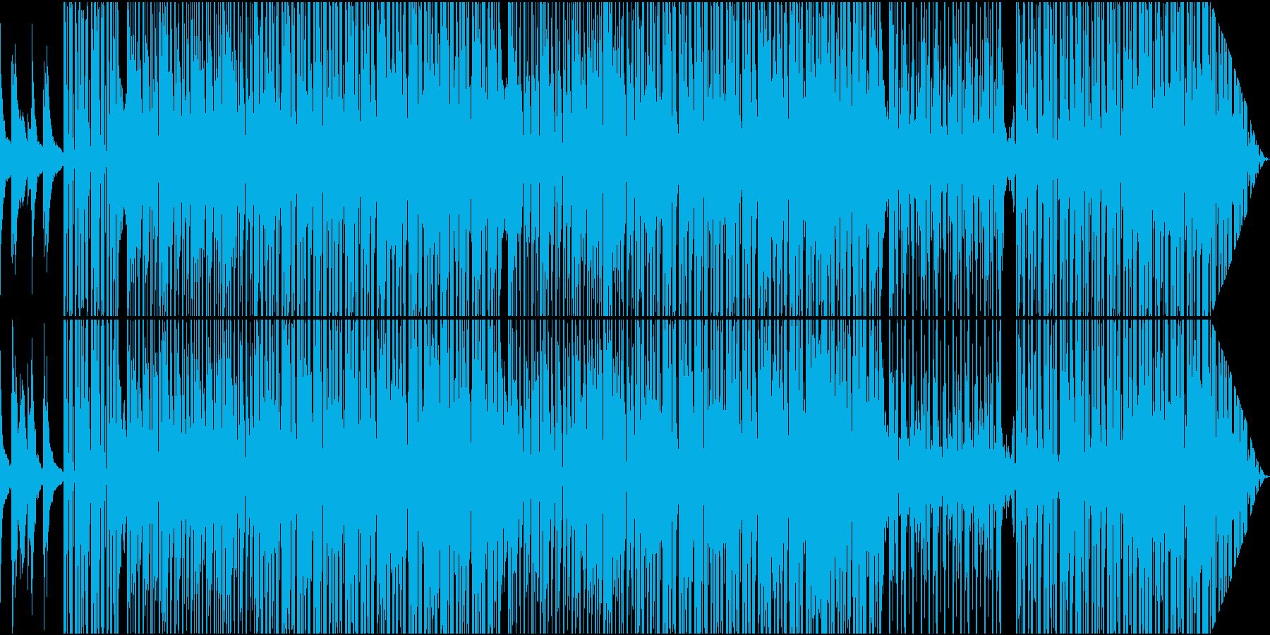 クールなR&B系ミディアムスローの再生済みの波形