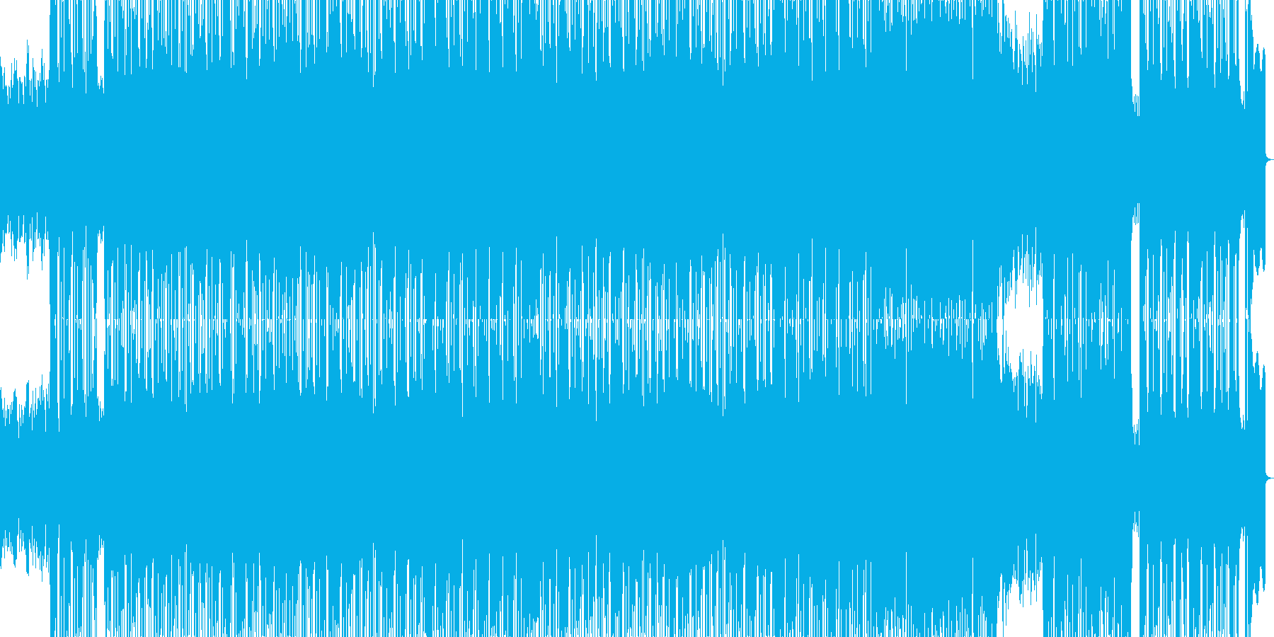 和風な雰囲気のR&Bポップバラードの再生済みの波形