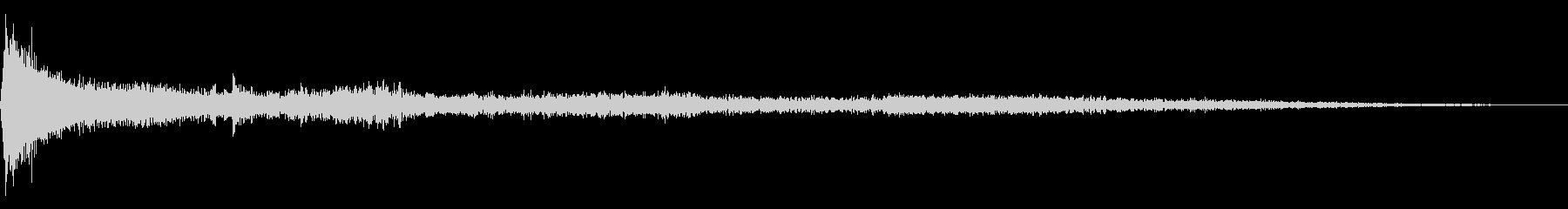 ホラー映画に出てきそうなノイズ系音源08の未再生の波形