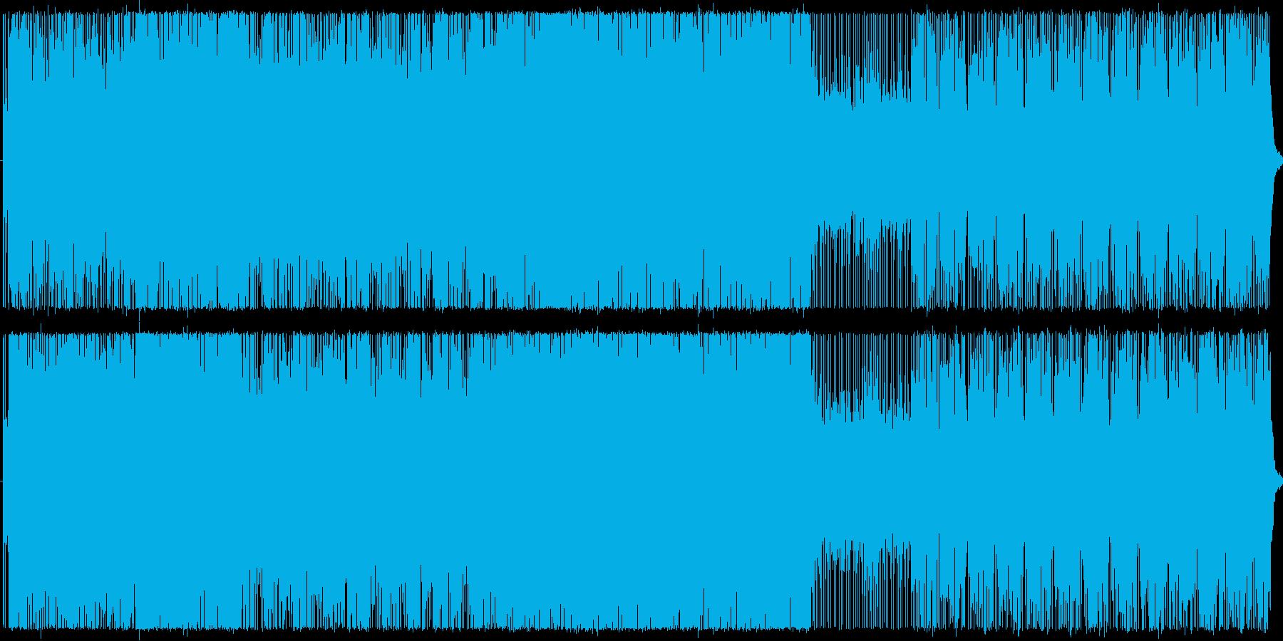 キレのよいアップテンポで。の再生済みの波形