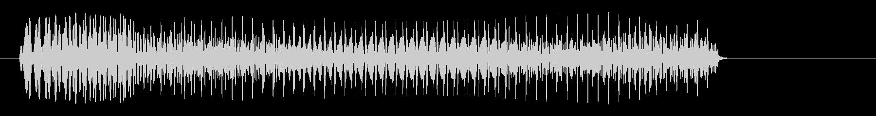 ポワァン(コミカル)脱力系の未再生の波形