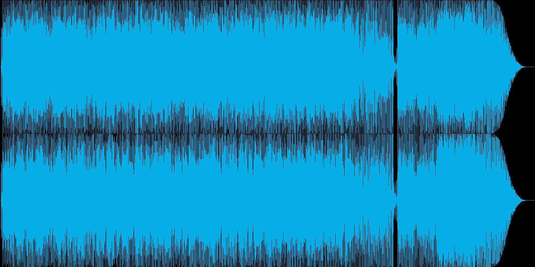 情熱的で哀愁漂うラテン系の楽曲ですの再生済みの波形