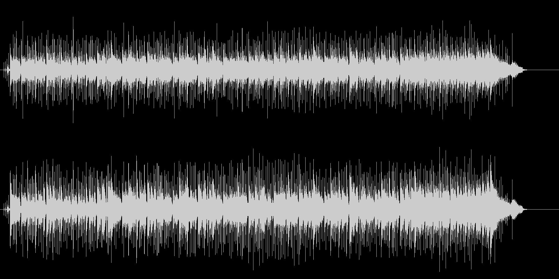 クール&ムーディーなボサノヴァ・サウンドの未再生の波形