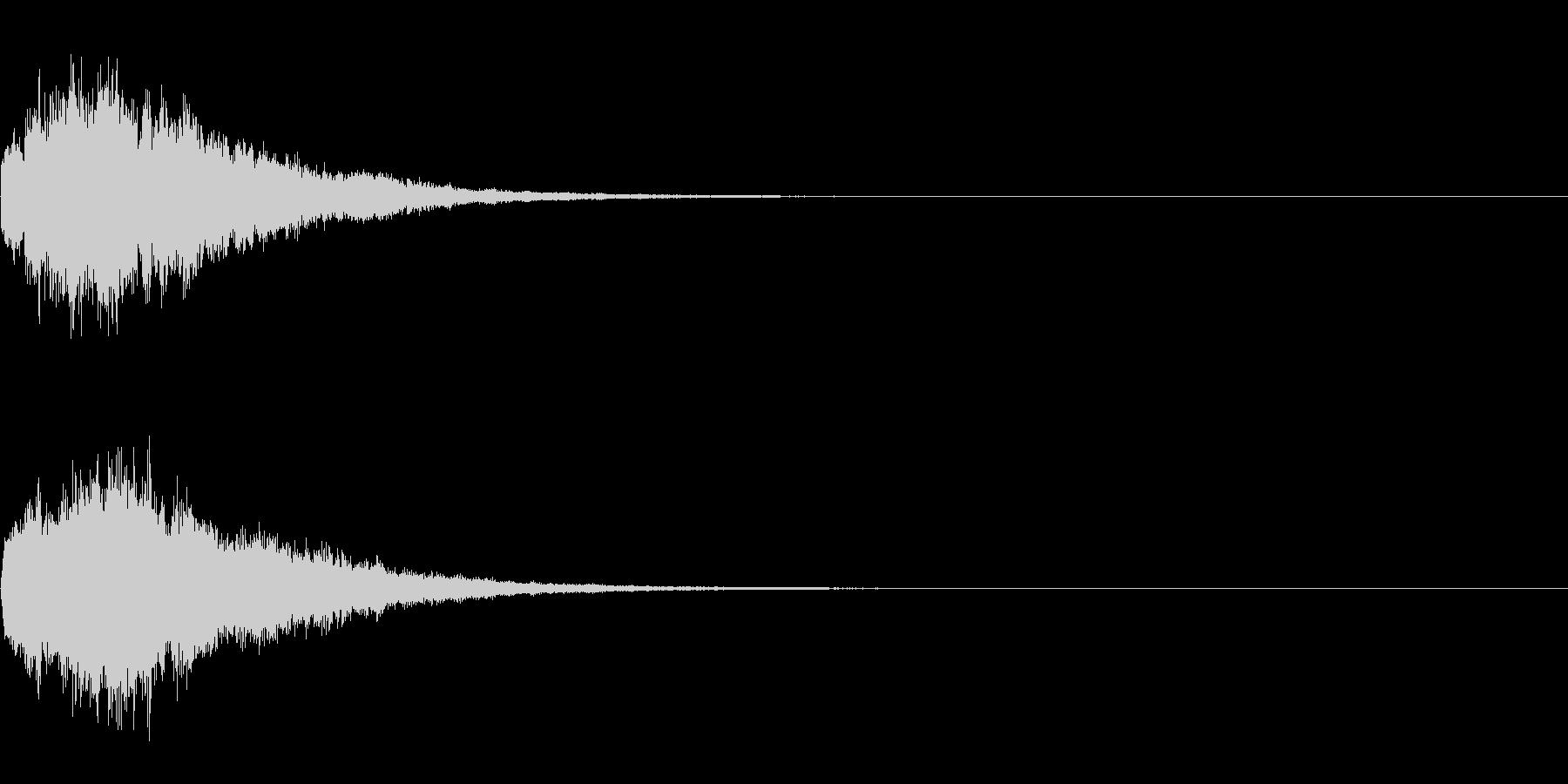 ファーン(不思議な雰囲気の決定、登場)の未再生の波形