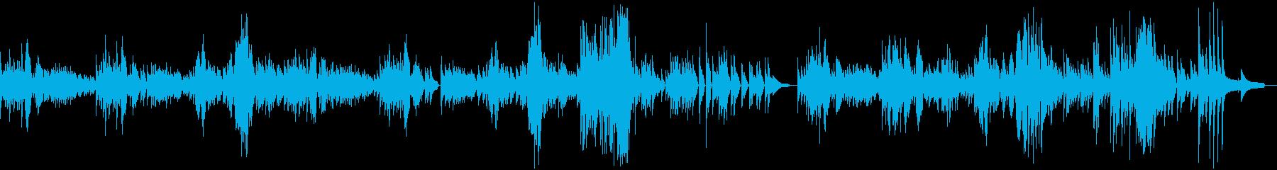 ピアノによる3拍子の軽快なワルツ曲です。の再生済みの波形