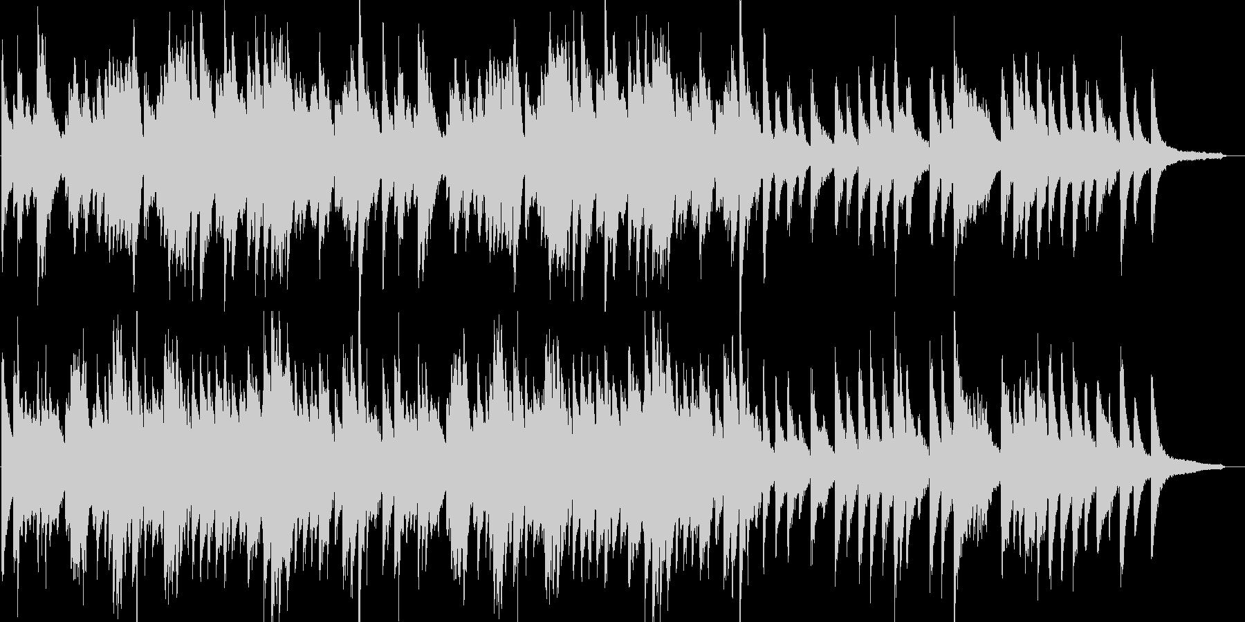 ロマンチック・ジャズ・映像・イベント用の未再生の波形