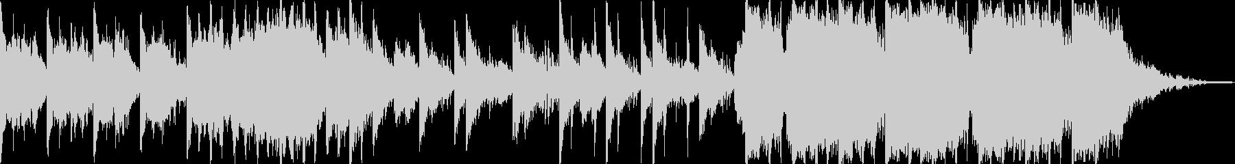 エレクトロで鈍重なリズムのオーケストラ。の未再生の波形