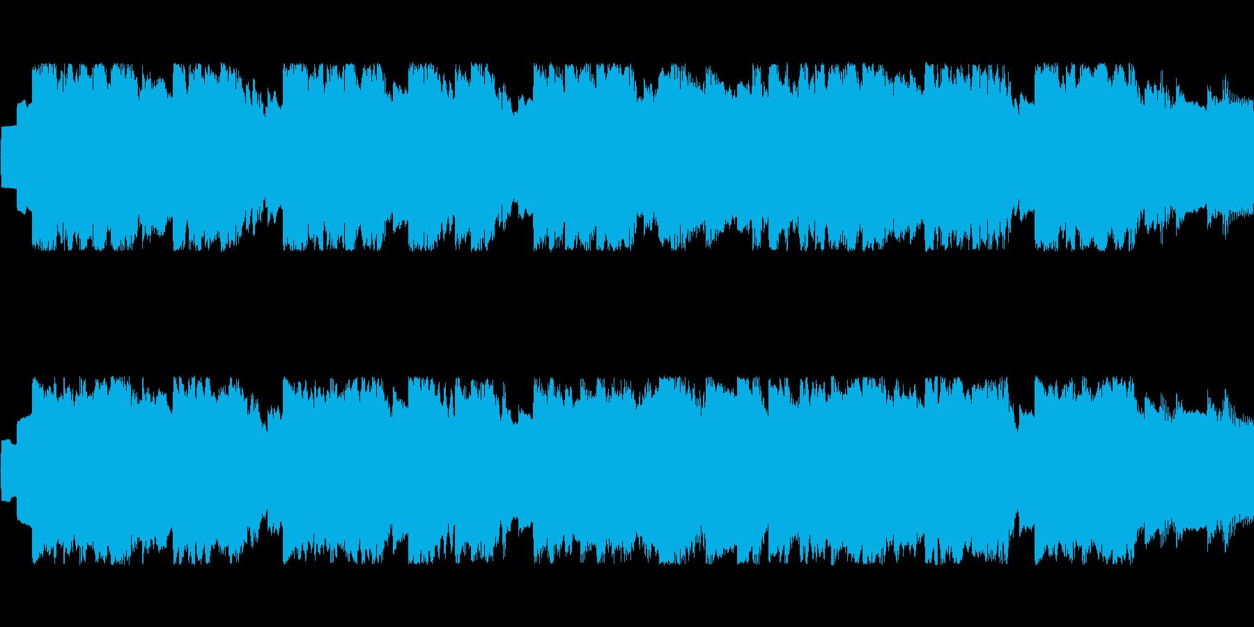 ゆったり温かい雰囲気のチップチューンの再生済みの波形