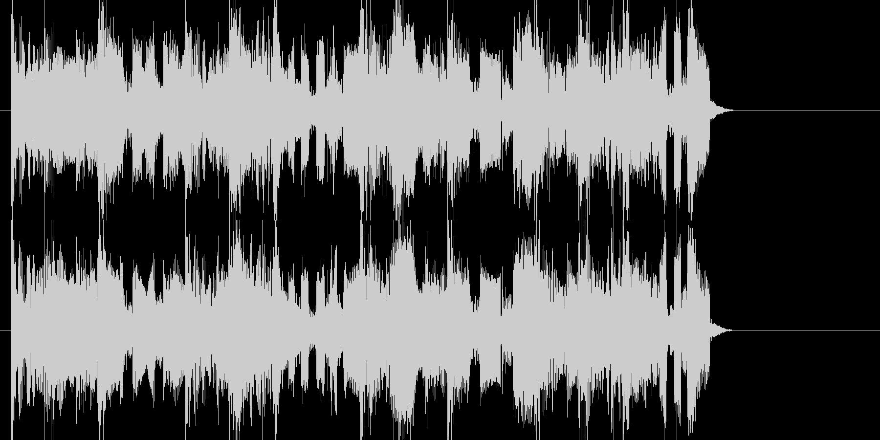 EDMシンセサイザーのジングルです。の未再生の波形