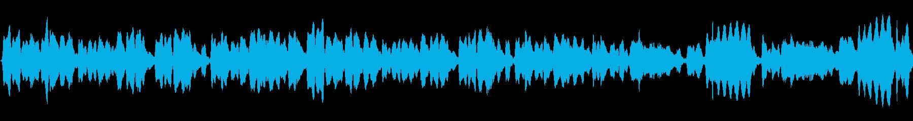 【32秒ループ】穏やかなフルート三重奏の再生済みの波形
