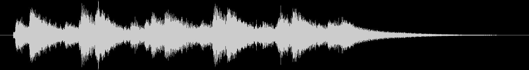 チャリン×複数(コイン沢山)の未再生の波形