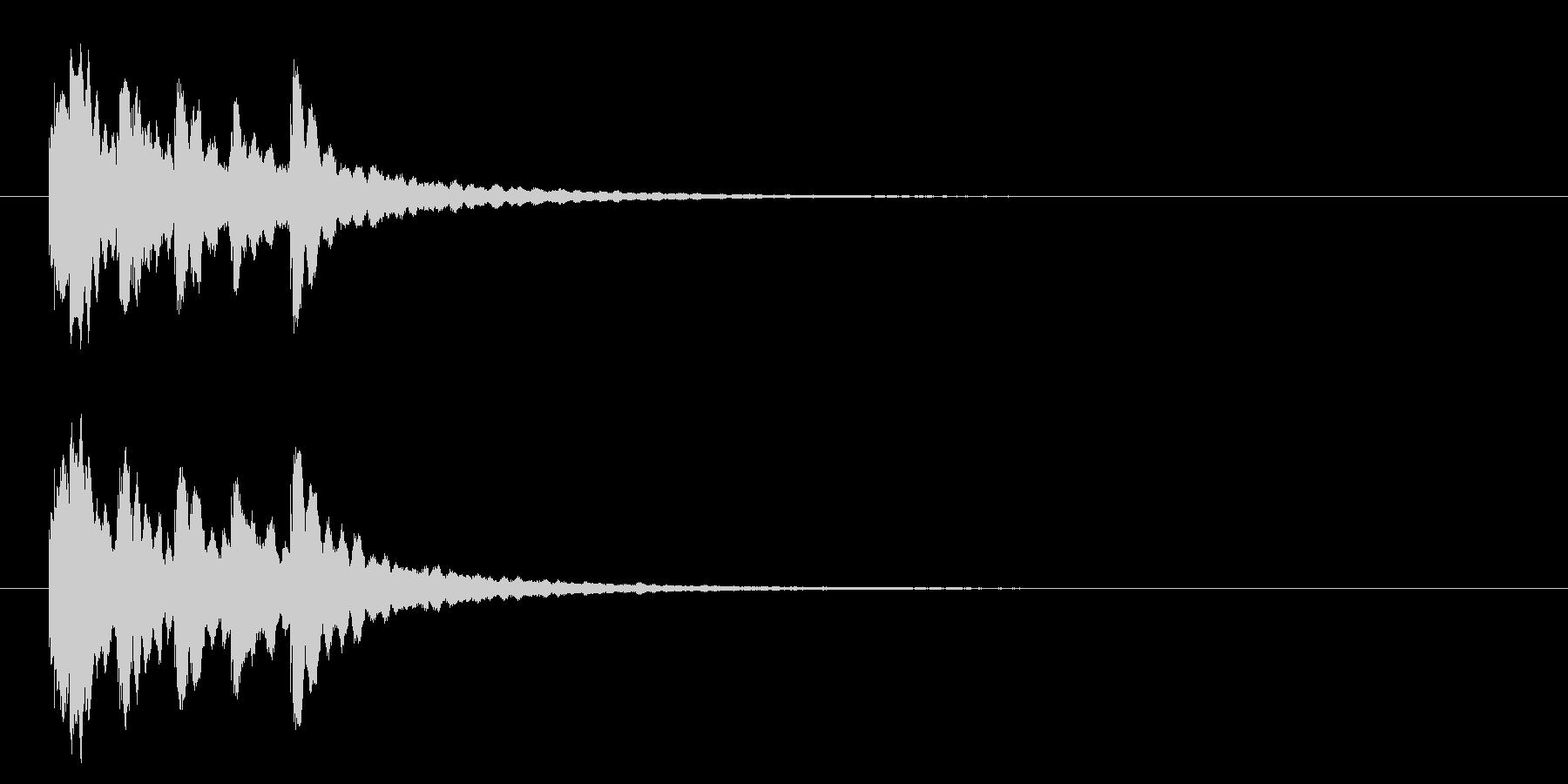 キラキラ系アイキャッチ1の未再生の波形