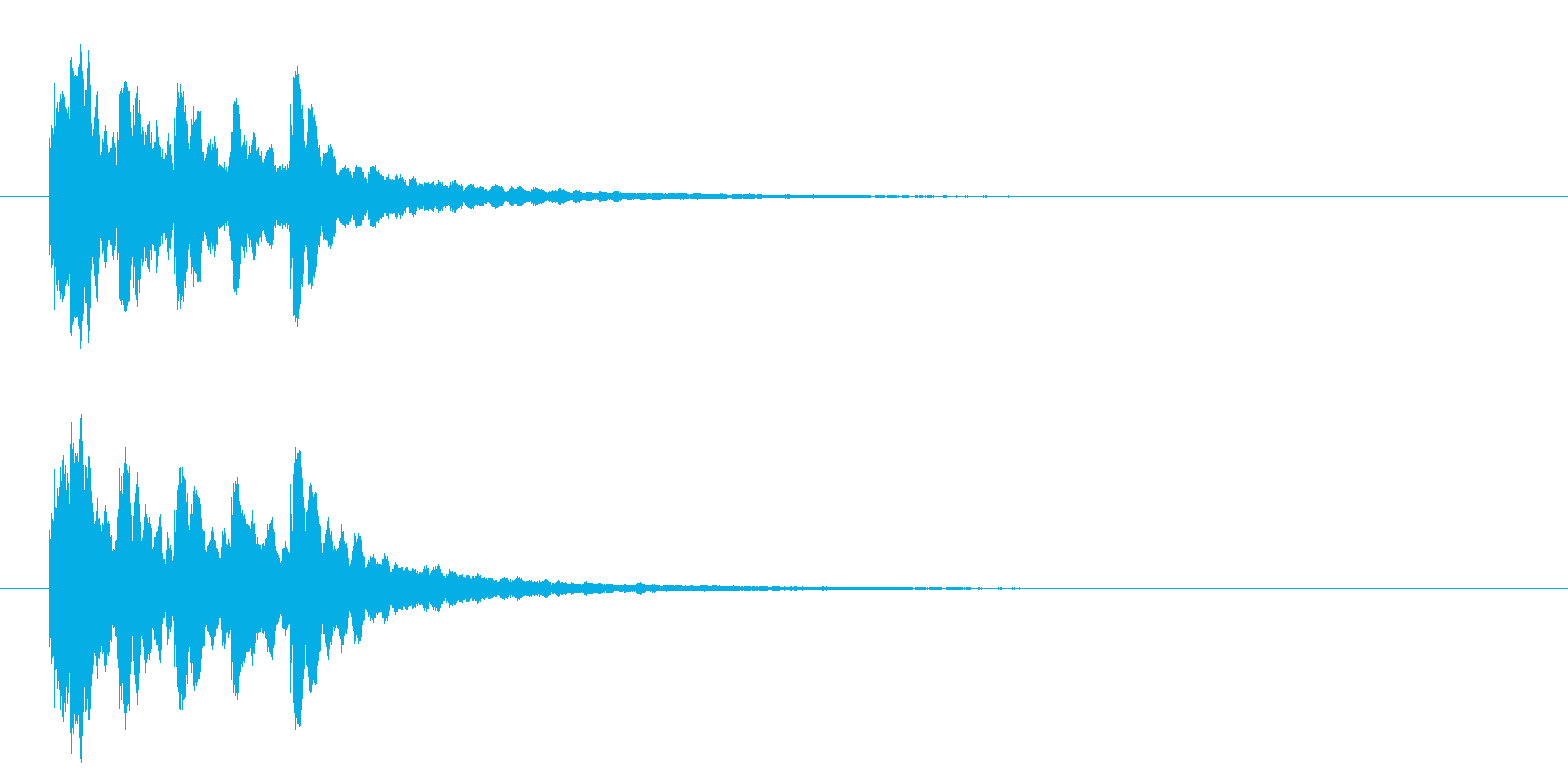 キラキラ系アイキャッチ1の再生済みの波形