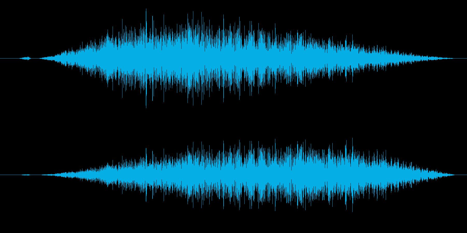 スワイプ/キャンセル/場面転換に最適!6の再生済みの波形
