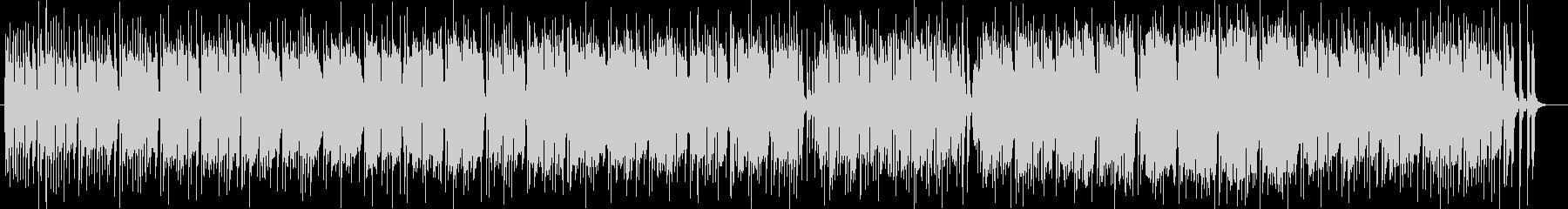 南国の風景の木琴シンセサイザー系サウンドの未再生の波形