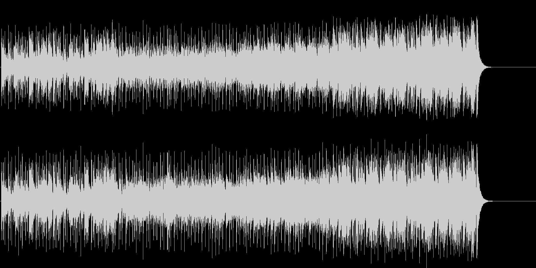 わくわくする軽快なポップ(イントロ~…)の未再生の波形