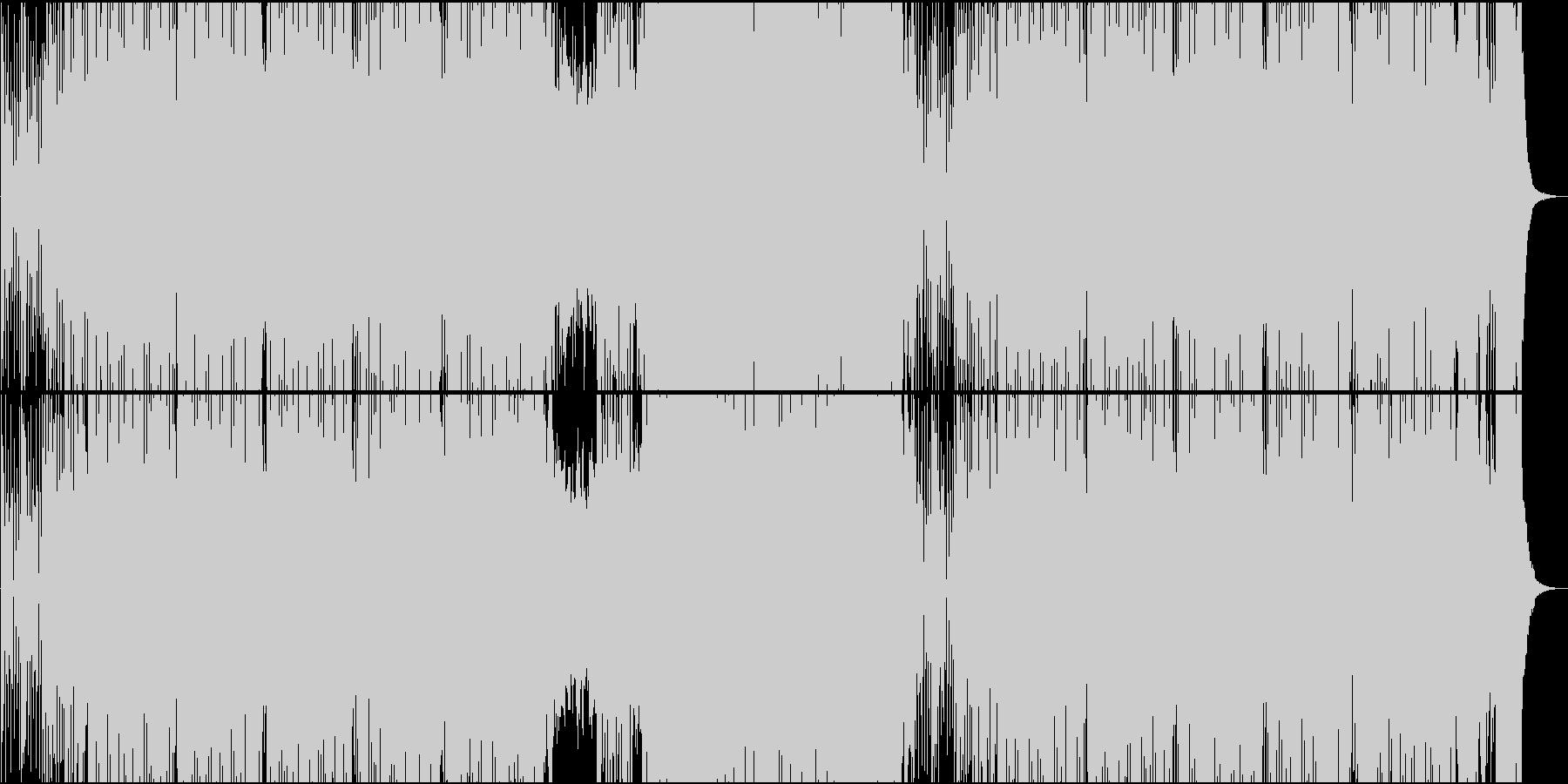 「カルメン/ビゼー」トランス系アレンジの未再生の波形