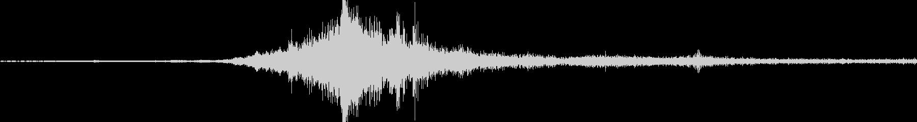 バイノーラル録音戦闘機6の未再生の波形