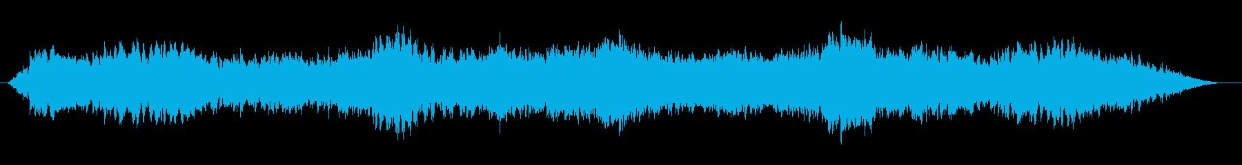 漂うイメージのループ曲の再生済みの波形