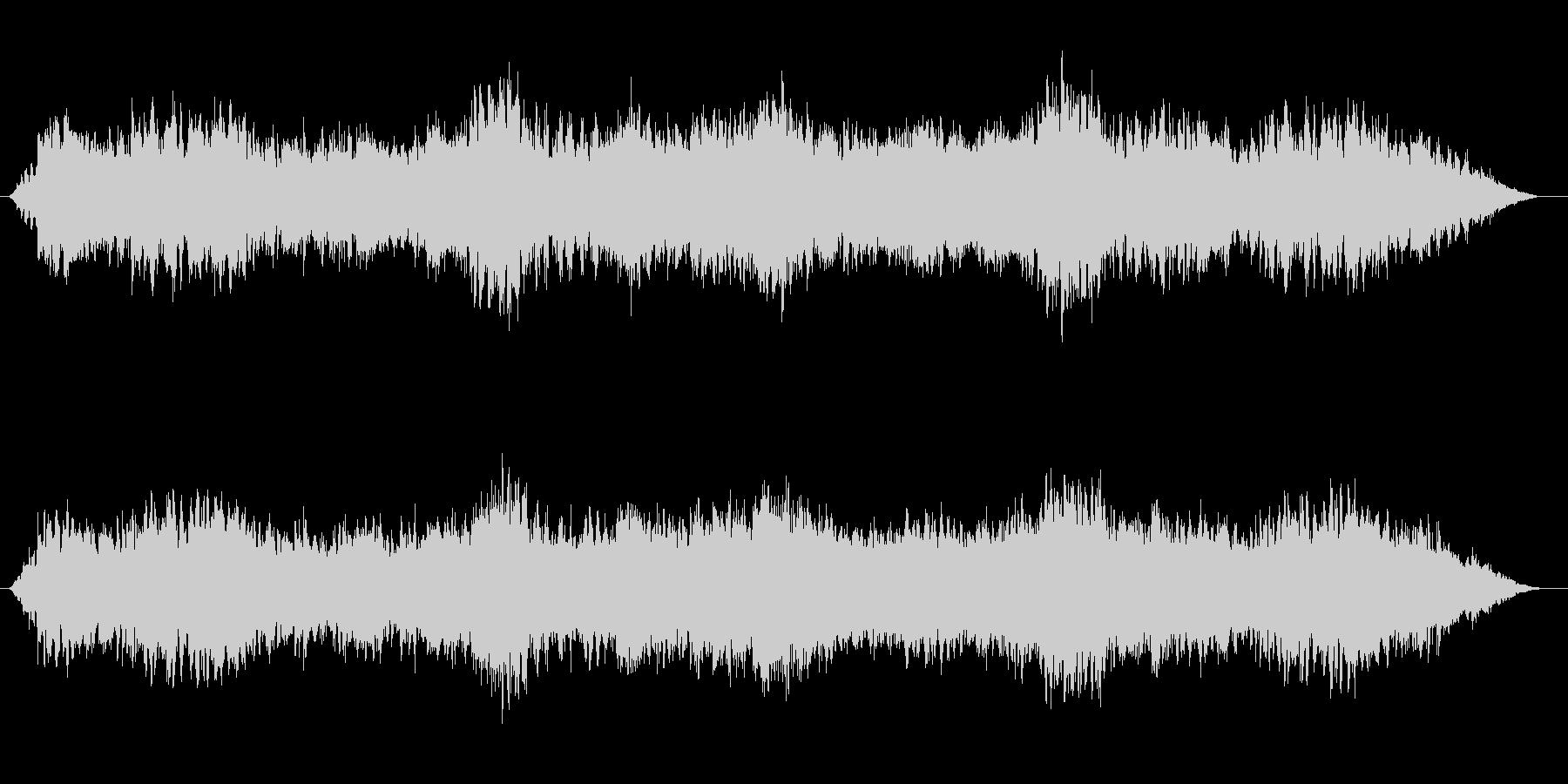 漂うイメージのループ曲の未再生の波形