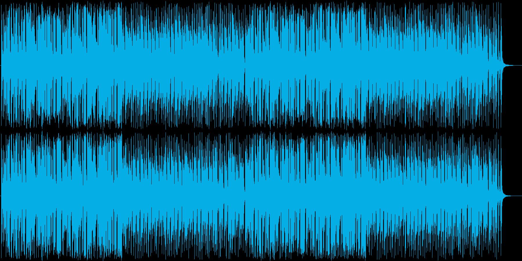 アニメの日常シーンで使えるほのぼのBGMの再生済みの波形