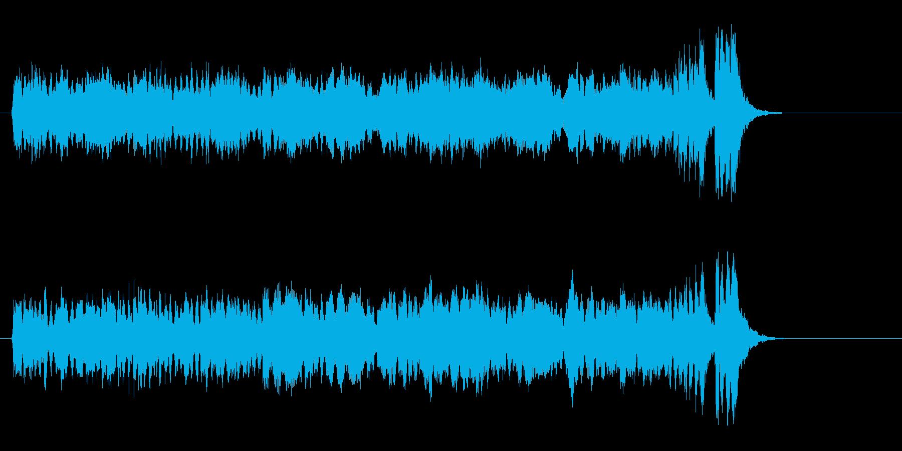 壮大な映画風オーケストラ(Aメロ)の再生済みの波形