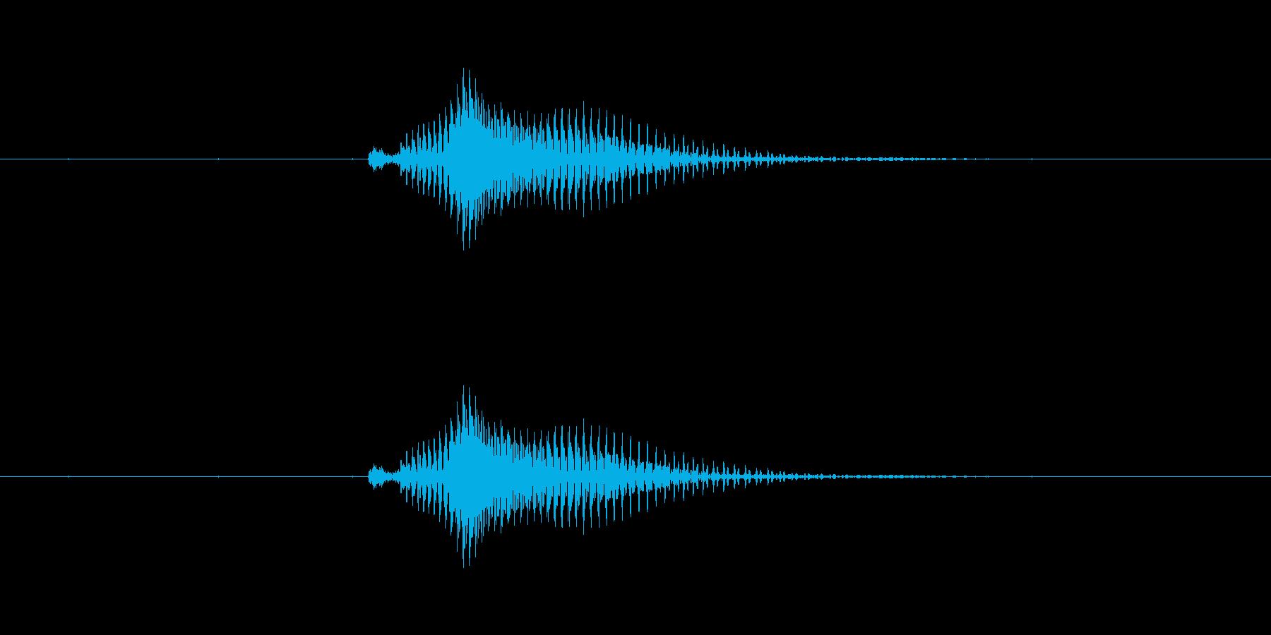 【数字】10(テン)の再生済みの波形
